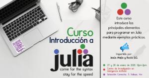 Curso Julia en el CIIA